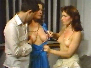 Vintage,Threesome,Big Boobs,Brunette,Flashing,MILF,School,Small Tits,Strip