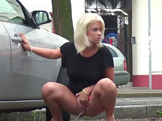 Pissing,Blonde,Public Nudity,Reality,Teen,Car Sex,Slut,Shaved,Amateur,Outdoor