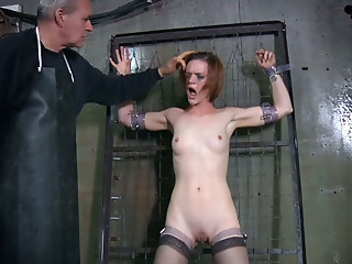Masked,Small Tits,Fetish,Redhead,Spanking,Stockings,Doggystyle,Amateur,BDSM