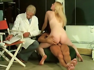 Doctor,Vintage,Blowjob,Cumshot,Lesbian,Threesome,Big Ass,Big Boobs,Blonde
