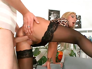 Housewife,Stockings,Big Ass,Big Boobs,Blonde,Hardcore,MILF,Wife,Doggystyle
