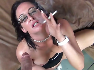 Glasses,Big Ass,Big Boobs,Blowjob,Brunette,MILF,POV,Masturbation