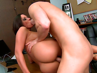 Office,Big Ass,Big Boobs,Big Cock,Blowjob,Brunette,Hardcore,MILF,Pornstar