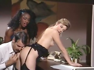 Threesome,Babe,Black and Ebony,Blonde,Brunette,Reality,Vintage