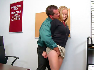 Student,Babe,Big Boobs,Blonde,Blowjob,Office,Teen,Slut