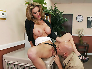 Office,Big Boobs,Big Cock,Blonde,Blowjob,Hardcore,MILF,Secretary,Ass licking,Shaved,Big Ass