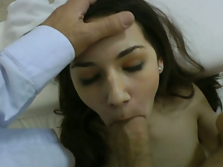 Casting,Amateur,Blowjob,Brunette,Homemade,POV,Small Tits,Teen