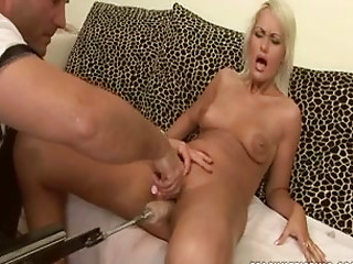 Machine,Babe,Blonde,Cumshot,Fingering,Hardcore,Sex Toys,Small Tits,Solo,Shaved,Masturbation