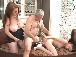 Old and young,Mature,Big Ass,Big Boobs,Blowjob,Chubby,MILF,Threesome,Doggystyle