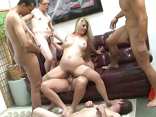 Pregnant,Gangbang,Blonde,Slut,MILF,Tattoo,Doggystyle,Big Ass,Big Boobs,Blowjob,Hardcore