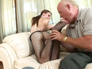 Old and young,Panties,Pantyhose,Small Tits,Teen,Fetish,Foot Fetish,Mature