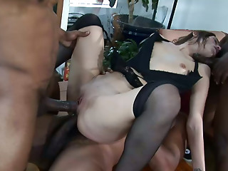 Gangbang,Hardcore,Interracial,Small Tits,Stockings,Anal,BDSM,Big Cock,Black and Ebony,Blowjob,Brunette,Double Penetration,Pornstar