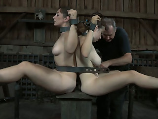BDSM,Outdoor,Big Ass,Big Boobs,Brunette