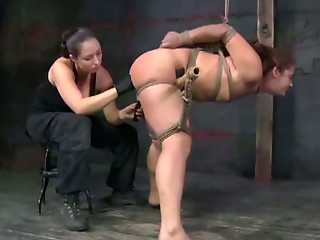 Screaming,Small Tits,Sex Toys,BDSM,Wet,Brunette,Hardcore,Shaved,Masturbation