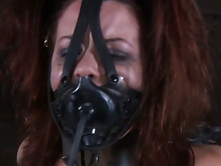 Masked,BDSM,Brunette,Hardcore,Sex Toys,Small Tits,Slut,Masturbation