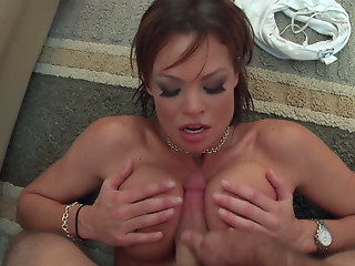 Titfuck,Housewife,Blowjob,Brunette,Hardcore,Pornstar,Wife,Big Ass,Big Boobs,Big Cock