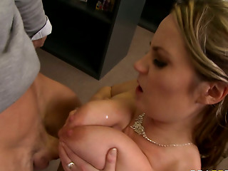 Titfuck,Brunette,Office,Blowjob,Hardcore,MILF,Big Boobs