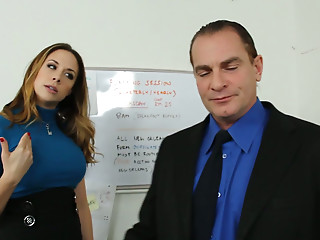 Secretary,Office,Fingering,Big Boobs,Pornstar