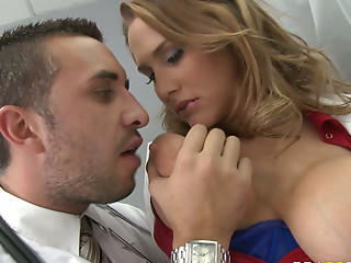 Freaky doctor eats Alanah Rae in the patient's room