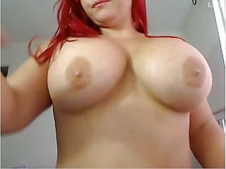 Redhead,Webcams,Big Ass,Big Boobs