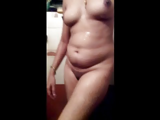 Indian,Shower,Wife