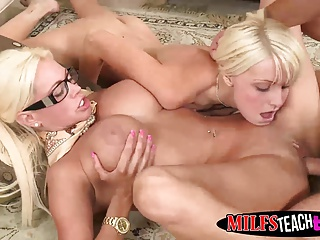 Babe,Blonde,Hardcore,Mature,MILF,Teen,Threesome