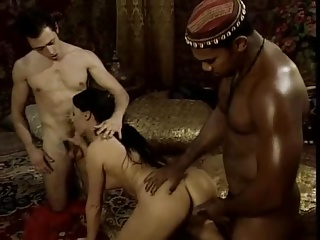 Double Penetration,Vintage,Threesome,Cumshot