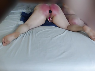 Spanking,Homemade,Amateur,Lingerie,Sex Toys,Orgasm