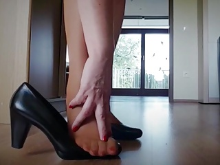 Stockings,Fetish,Foot Fetish,MILF,Nylon,BDSM