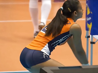 Winifer is a hot volleyball player