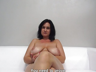 Casting,Natural,Amateur,Big Boobs,Blowjob,Cumshot,MILF