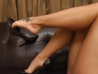 Foot Fetish,Fetish,High Heels,Stockings