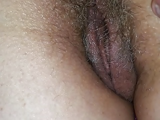 Hairy,Close-up,British,Wife