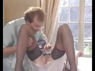 Doctor,Group Sex,Lingerie,Vintage