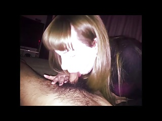 Blonde,Blowjob