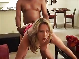 Amateur,Big Boobs,Big Cock,Blonde,Interracial,Wife