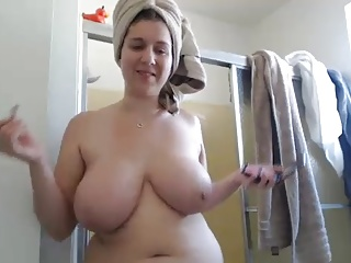 Natural,Shower,Webcams,Big Boobs
