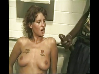 Gangbang,Blowjob,Facial,Hardcore,Bathroom,Slut
