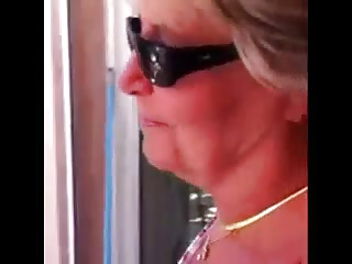 Blonde,Grannies,Outdoor,Masturbation