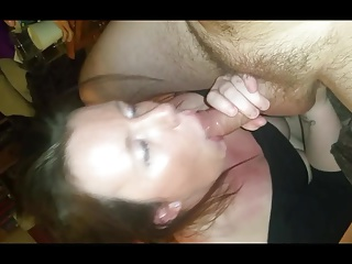 Mature BBC anal and facial