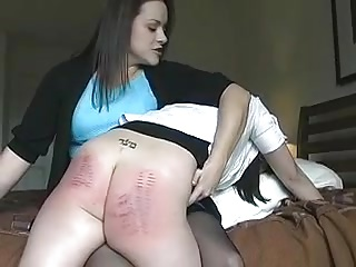 A gets a Spanking