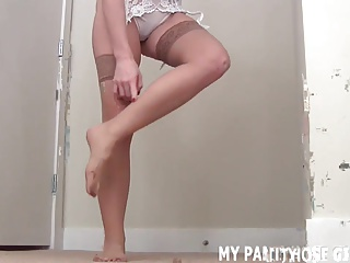 Stockings,Pantyhose,POV,BDSM,Femdom,Panties