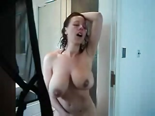 Shower,Amateur,Big Boobs,MILF,Natural,Masturbation