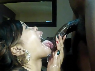 Big Cock,Natural,Big Boobs,Black and Ebony,Blowjob,Cumshot,Wet