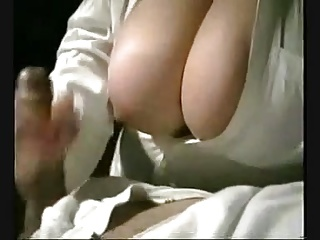 Handjob,Big Boobs
