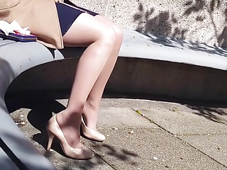 Fetish,Foot Fetish,Outdoor,Panties,Pantyhose