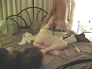 Watching my wife fucking and sucking another man