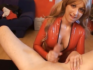 Facial,Blowjob,Latex
