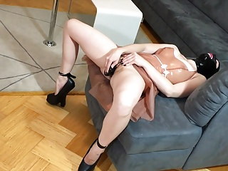 High Heels,Latex,Sex Toys,Extreme,Masturbation