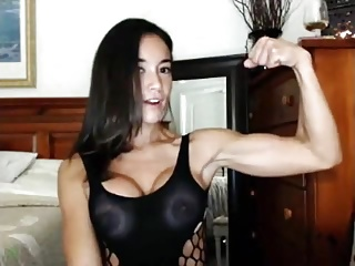 Big Tits Fitnes And Sexy Muscle
